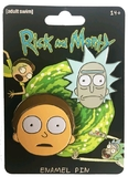 Rick & Morty - Faces Enamel Pin Set