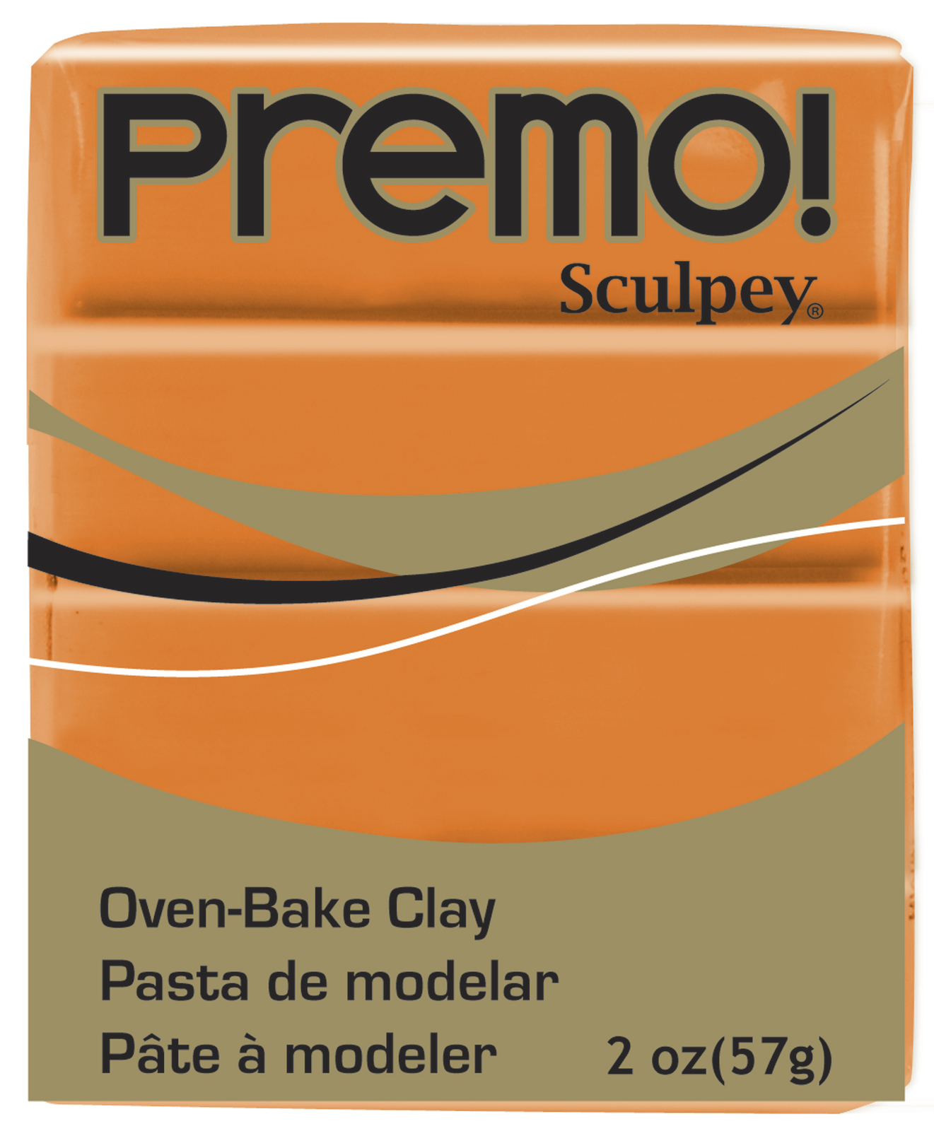 Sculpey Premo Orange (57g) image