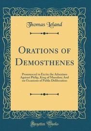 Orations of Demosthenes by Thomas Leland