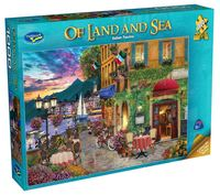 Holdson: 1000 Piece Puzzle - Of Land & Sea S2 (Italian Fascino)