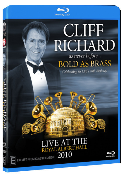 Cliff Richard: Bold as Brass - Live in London 2010 on