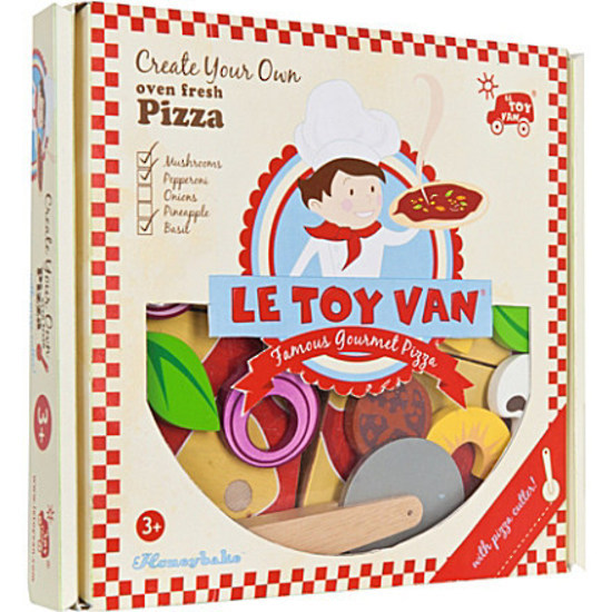 Le Toy Van: Honeybake - Create Your Own Pizza image