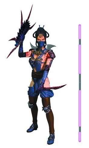 "Mortal Kombat - 6"" Kitana (Mournful) Action Figure image"