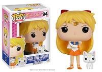 Sailor Moon - Sailor Venus w/ Artemis Pop! Vinyl Figure