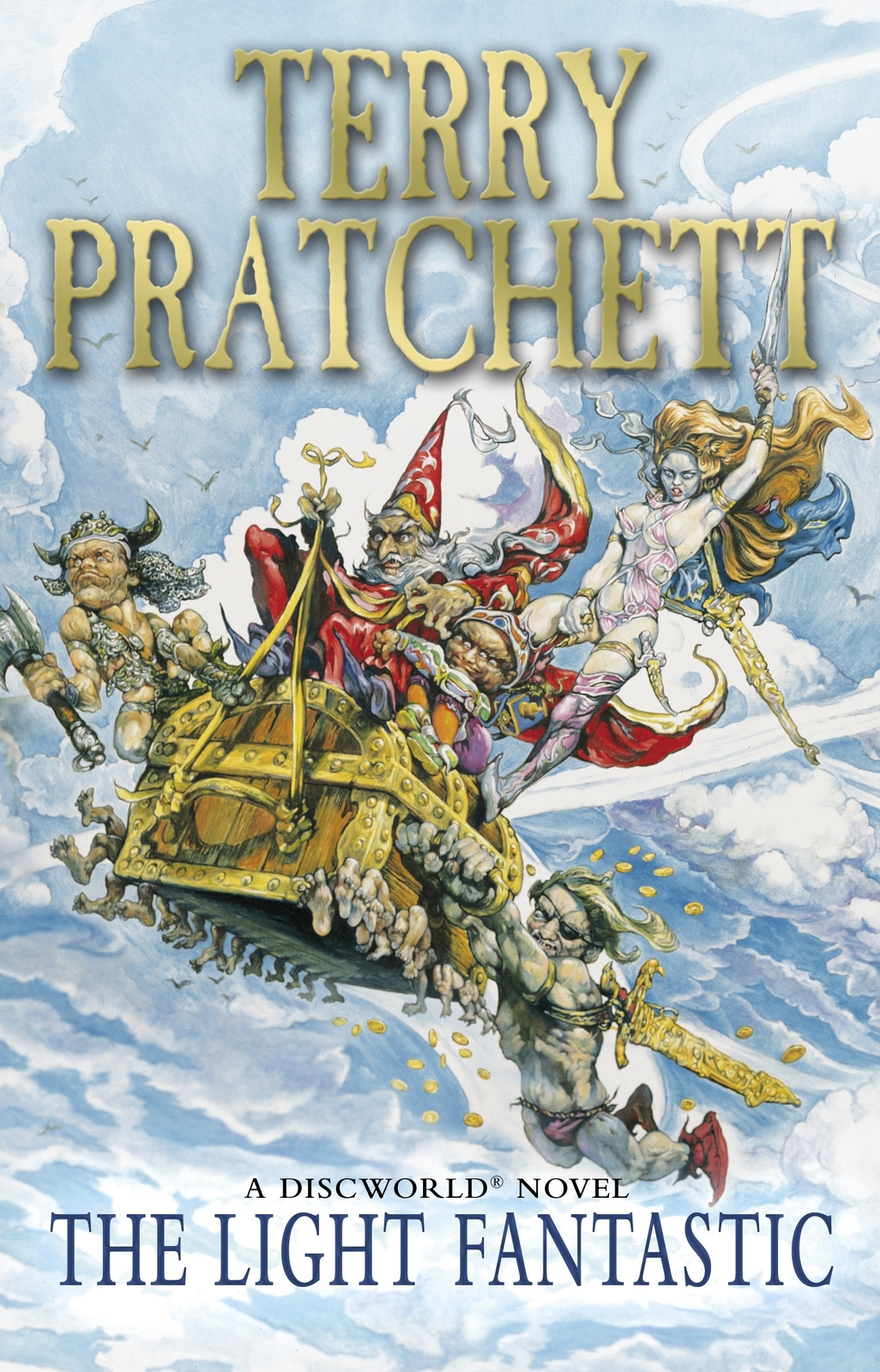 The Light Fantastic (Discworld 2 - Rincewind) (UK Ed.) by Terry Pratchett image