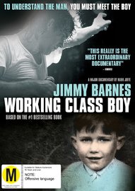 Working Class Boy (Jimmy Barnes) on DVD