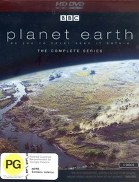 Planet Earth - The Complete Series (5 Disc Box Set) on HD DVD image