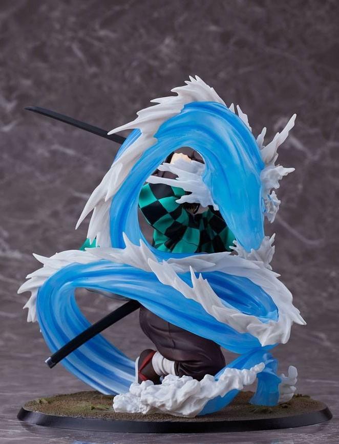 Demon Slayer: 1/8 Tanjiro Kamado DX Ver. - PVC Figure image