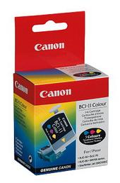 Canon Ink Cartridge BCI-11C 3pk Colour