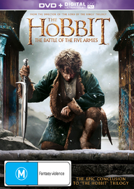 The Hobbit: The Battle of the Five Armies on DVD