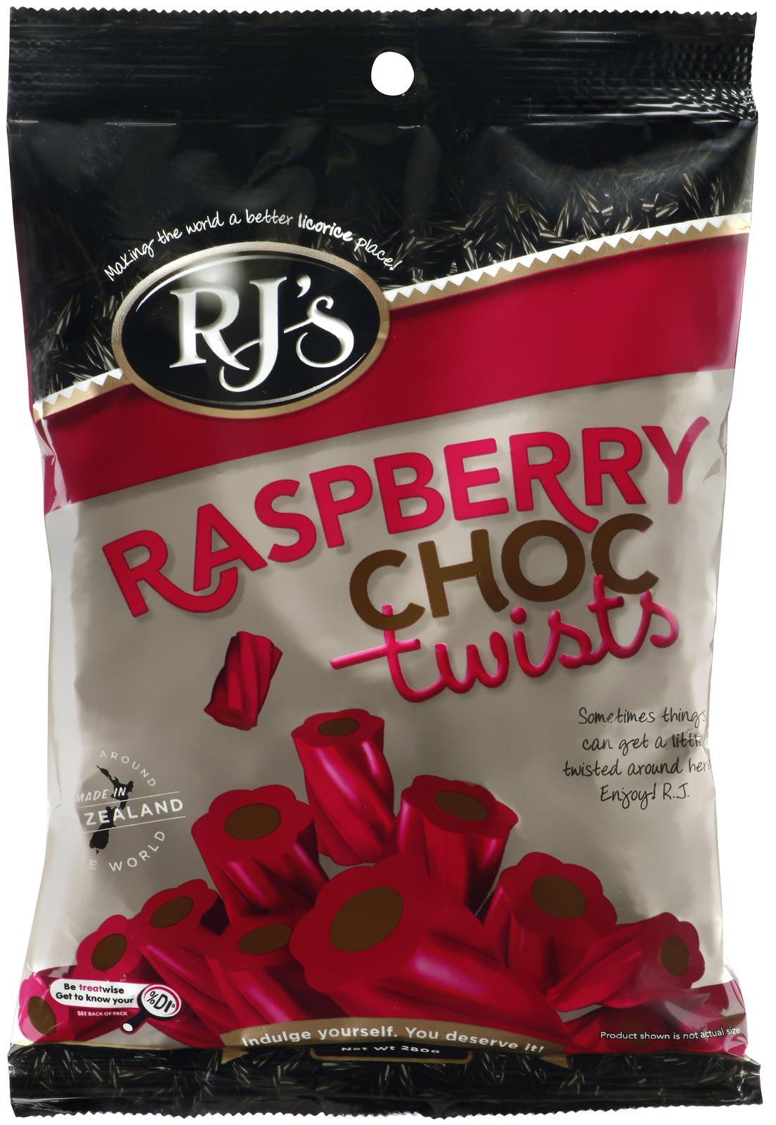 RJ's Raspberry Choc Twists (280g) image