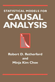 Statistical Models for Causal Analysis by Robert D. Retherford image