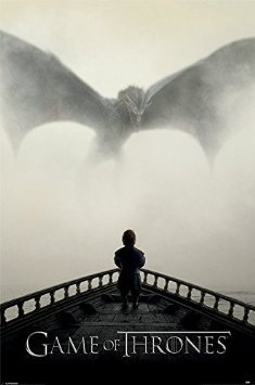 Game Of Thrones Maxi Poster - A Lion & A Dragon (350)