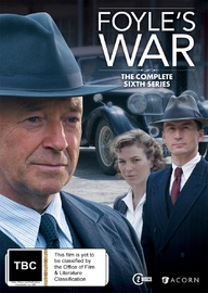 Foyle's War: The Complete Series 6 on DVD