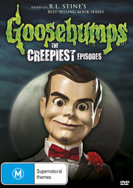 Goosebumps: The Creepiest Episodes on DVD