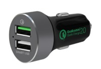 mbeat: QuickBoost S Certified QC 2.0 & Smart USB Car Charger