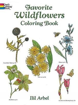 Favourite Wildflowers Colouring Book by Ilil Arbel