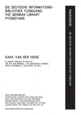 Sara Van Der Heide - the German Library Pyongyang