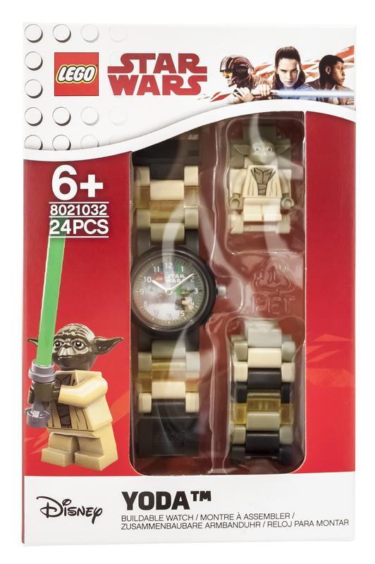 LEGO Yoda Watch with Minifigure
