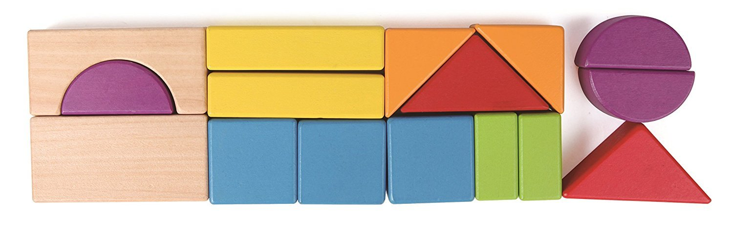 Hape: City Planner Block Set (Wooden 15pc) image