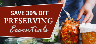 30% off Preserving Essentials!