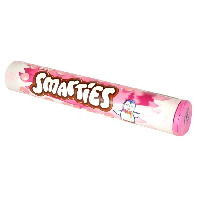 Pink Smarties Giant Tube 130g