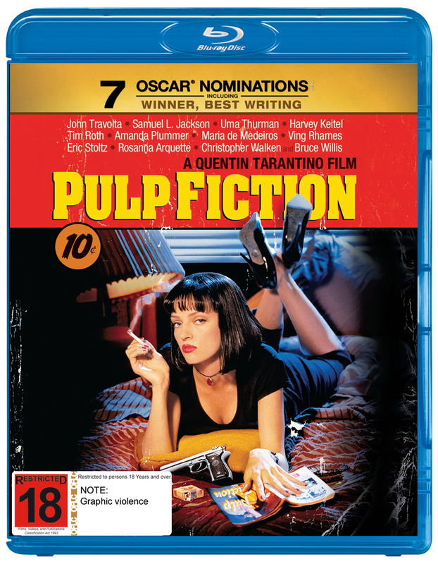 Pulp Fiction on Blu-ray