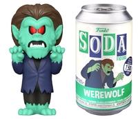 Scooby Doo: Werewolf - Soda Vinyl Figure + Collector Can