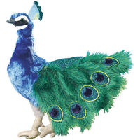 Folkmanis Hand Puppet - Peacock