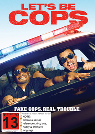 Let's Be Cops on DVD