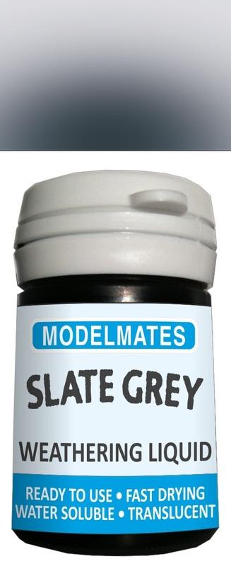 Modelmates: Translucent Weathering Liquid – Slate Grey