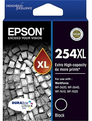 Epson Ink Cartridge - 254XL (Black)