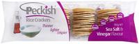 Peckish Rice Crackers - Sea Salt & Vinegar (100g)