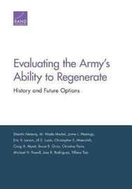 Evaluating the Army's Ability to Regenerate by Shanthi Nataraj image