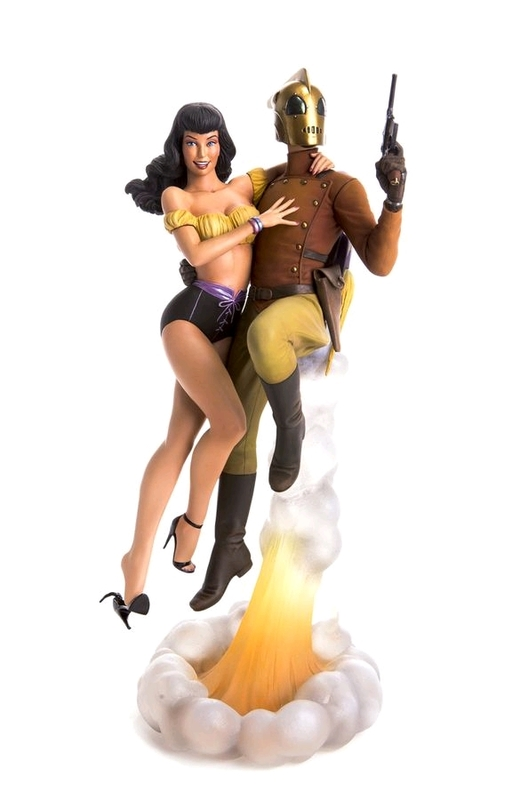 "Rocketeer & Betty - 13"" Collectors Statue"