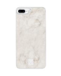 Moyork STONE Marble Case for iPhone 6 Plus/6S Plus/7 Plus/8 Plus - Swan White