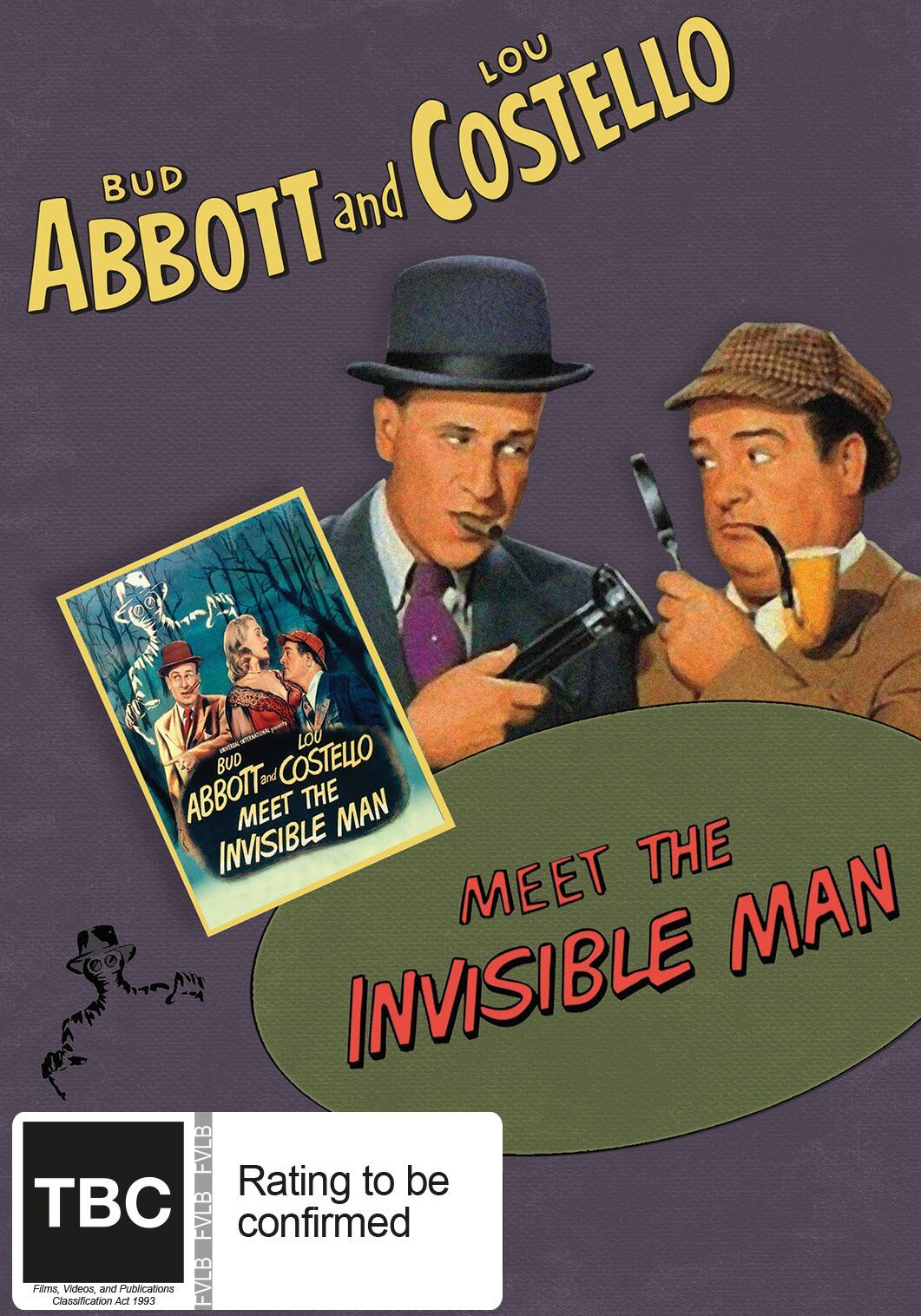 Abbott And Costello: Meet The Invisible Man on DVD image