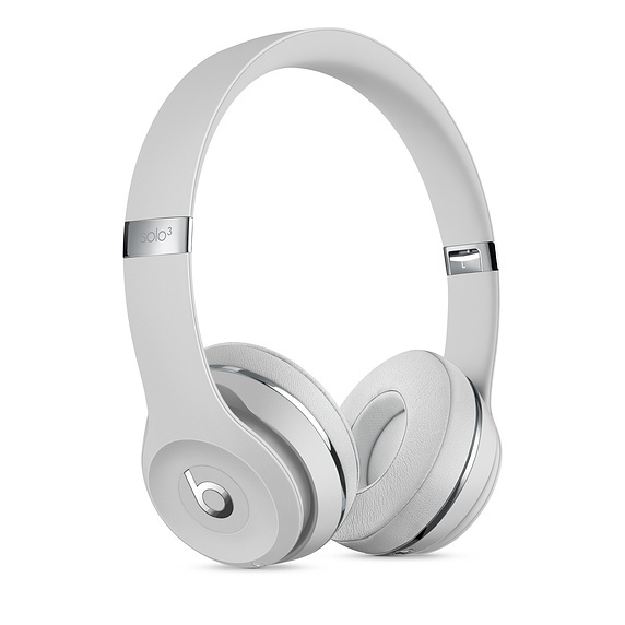 Beats: Solo3 Wireless Headphones - Satin Silver