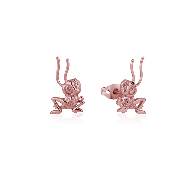 Couture Kingdom: Disney Mulan Cri-Kee Stud Earrings Rose Gold