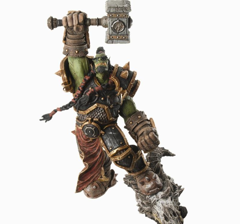World of Warcraft Orc Warchief 'Thrall' Premium Series 2 Figure image