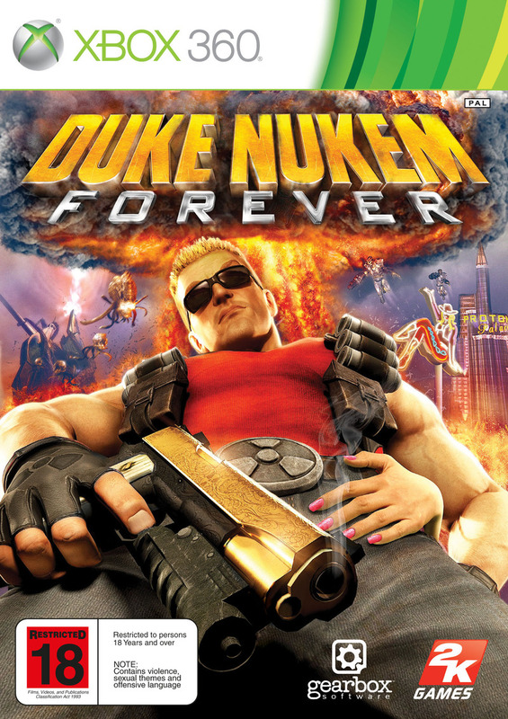 Duke Nukem Forever for X360