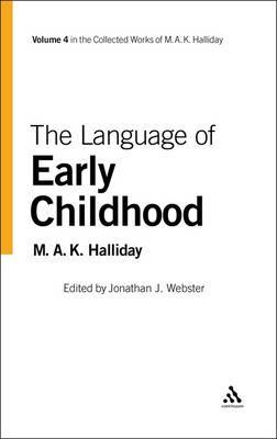 Language of Early Childhood by M.A.K. Halliday image