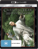 Crouching Tiger, Hidden Dragon on Blu-ray, UHD Blu-ray