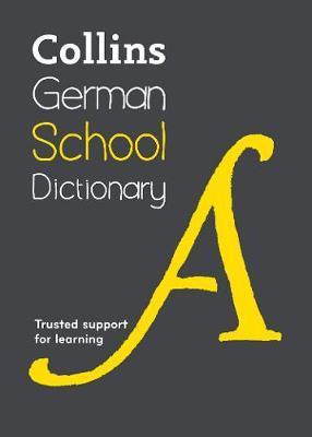 Collins German School Dictionary by Collins Dictionaries image