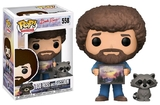 The Joy of Painting - Bob Ross (with Raccoon) Pop! Vinyl Figure (with a chance for a Chase version!)