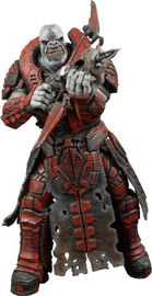 Gears of War Series 2 Action Figure - Theron Guard (No Helmet)