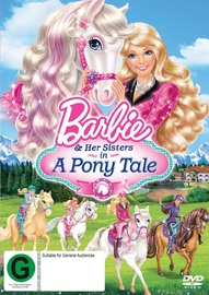 Barbie & Her Sisters in A Pony Tale on DVD