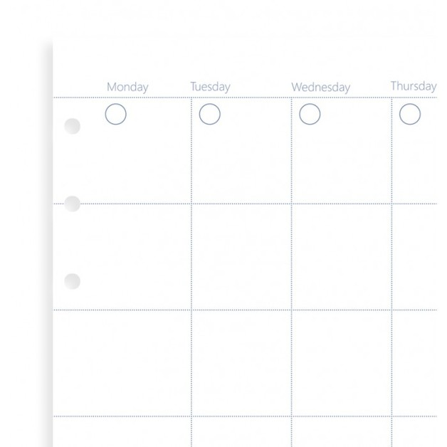 Filofax: Personal Clipbook - Month Planner