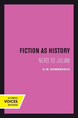 Fiction as History by G.W. Bowersock image