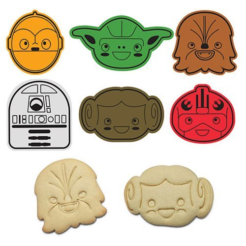 Star Wars: Rebel Friends Cookie Cutters